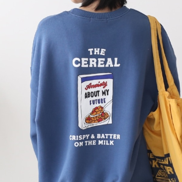 Cereal Man To Man T-Shirt