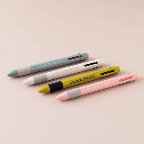 Life & Pieces Gel Pen (4 Color) Set