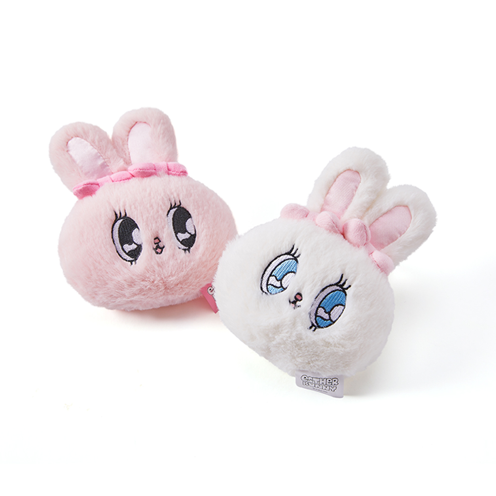 Esther Bunny Face Key Ring