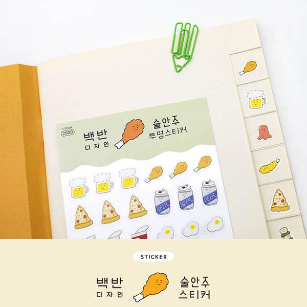 Baek Ban Sticker Snack