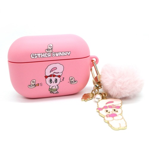 Esther Bunny AirPod Pro Colored Soft Case