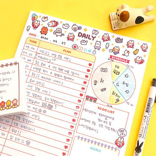 Dalgona Studio Daily Notepad