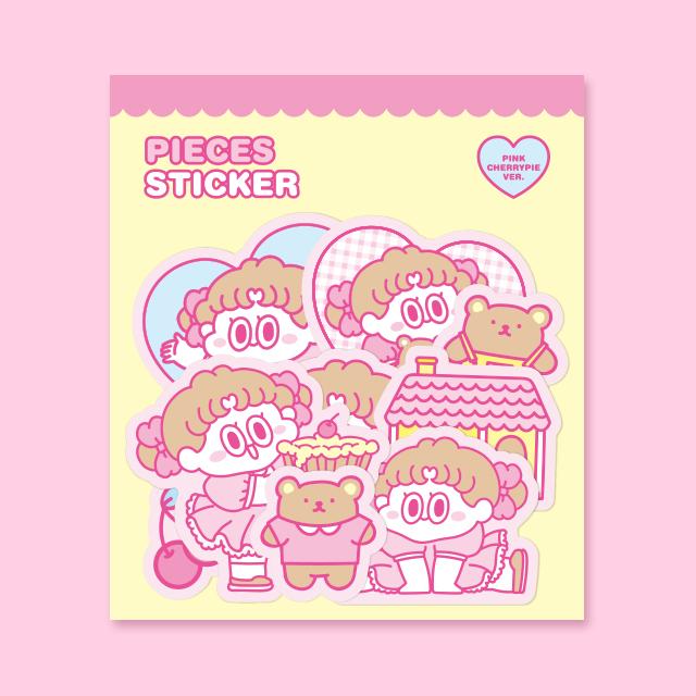 Standard Love Dance Piece sticker Pink CherryPie Ver