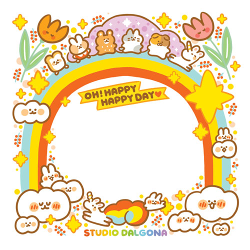 Dalgona Oh! Happy Day Memopad